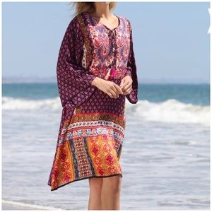 NWT Ana-K Anandas Collection multicolor dress